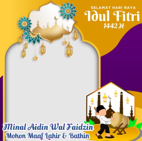 Twibbon Idul Fitri 1442 H