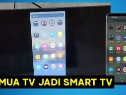 Cara Menyambungkan HP Ke TV Sharp Aquos Tanpa Kabel